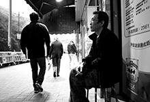 黄灿然 | HuangCanran, photo © 廖偉棠 | Liu Wai-tong
